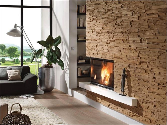 Revestimientos innovadores con materiales modernos revear for Placas decoracion pared